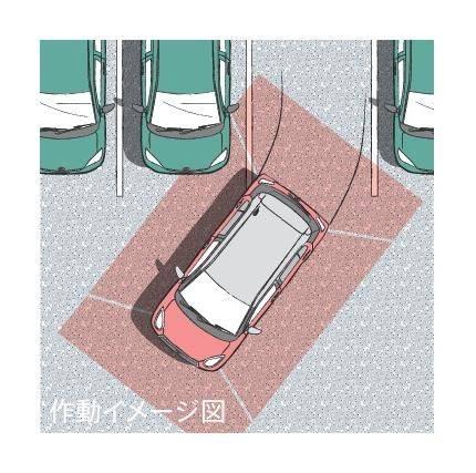パノラミックビュー対応ナビレディパッケージ■ナビ本体は含まれません。別途、販売店装着オプションのナビゲーションシステム装着が必要です。 ■カメラが映し出す範囲は限られており、実際より遠く見える場合があります。映像を過信せず、必ず車両周辺の安全を直接確認しながら運転してください。詳しくは取扱説明書をご覧ください。 ■ステアリングスイッチは、販売店装着オプションのナビゲーションシステムを選択した場合に操作可能となります。